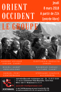 Rencontre orient occident sierre 2018