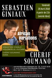 Sébastien Giniaux & Cherif Soumano