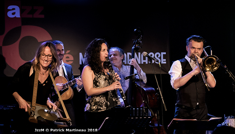 aurelie band au Jazz Café Montparnasse