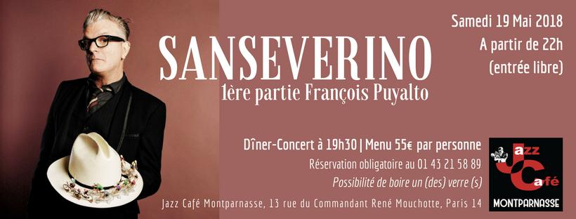 Sanseverino au Jazz Café Montparnasse